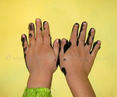 whole website for hand and footprint art