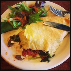 Savory Crepe @ Wholy Crepe in Franklin, TN!  Photo by visitfranklintn