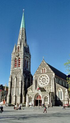 Gothic revival architecture christchurch cathedral gothic revival