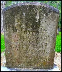 Pathway To Remembrance: Tombstone Tuesday - James Luther Smith #genealogy #familyhistory