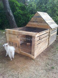 Maisonnette pour lapin. Rabbit's house