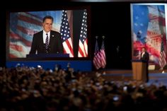 """John Cassidy on Romney's """"Gift"""" Gaffe, and what he meant to say: http://nyr.kr/U2kJkh (Photograph by David Burnett/Contact Press.)"""