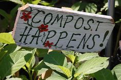 Garden Sign@jane Stevenson you need this painted on your barrel