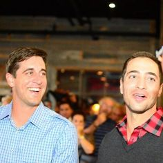 Aaron Rodgers and Ryan Braun.