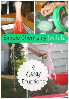 Eruptions chemistry science for kids
