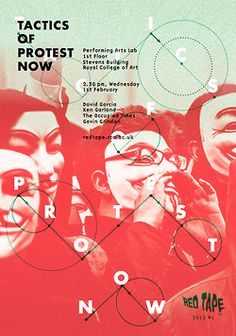 graphic design, studios, red, colors, protest, design inspir, flats, tapes, posters