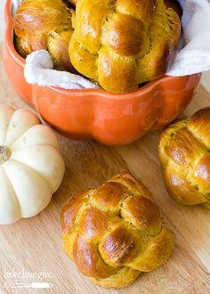 pumpkin challah - bake.love.give.