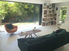 Love the sliding doors out to the backyard. Soooo clean and beautiful!