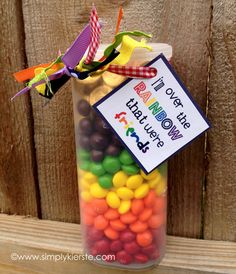 Over the Rainbow Free Printable fun gift for my friends