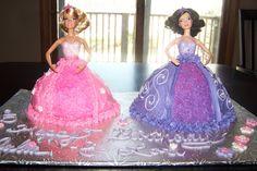 Barbie Cakes!