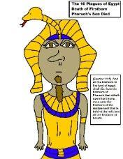 die lesson, pharaoh son, son die
