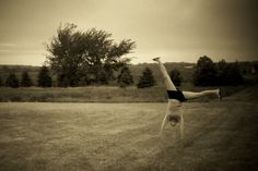 Can you cartwheel?  No, I cannot.