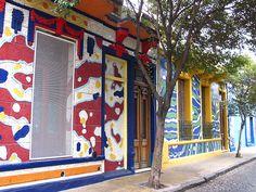 Pasaje Lanin, Barrio de Barracas.-