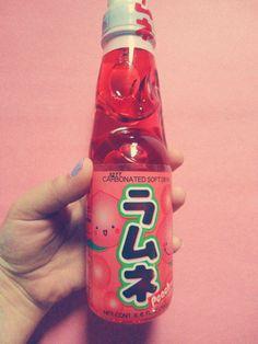 Japanese japan ramune peach drink PD