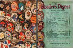 Reader's Digest front and back cover, April 1944