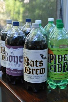 Love these soda flavors #halloween #drinks