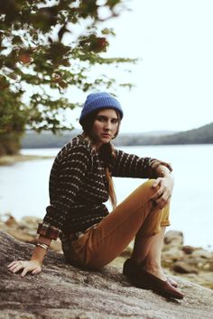 Inspiration for outdoor wear via Mayflower Supply.