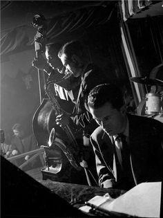 Stan Getz, Tommy Potter, Al Haig, NYC, New York, 1949