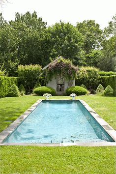 Blissful pools | Traditional Homes