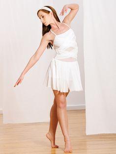Whiter Shade of Pale - Style 0262 | Revolution Dancewear Contemporary/Lyrical Dance Recital Costume