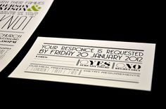 DIY Wedding Invite set - tie the knot. $57.00, via Etsy.