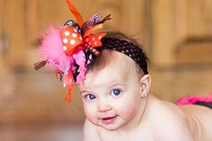 Hot Pink Orange Camo Hunting Over The Top by loveablebabyboutique, via Etsy.