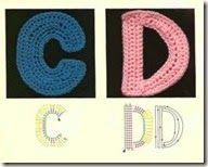 alphabet 2 crochet craze, crochet gift, complemento crochet