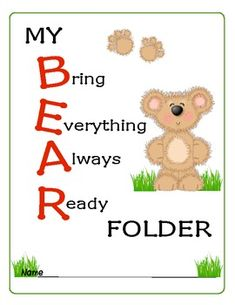 Here is a set of colorful, kid-friendly, bear themed resources for setting up your Kindergarten classroom. Included are desk tags, hall passes, sig...