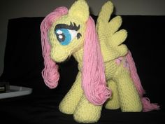 My Little Pony Friendship is Magic Crochet Plush....free
