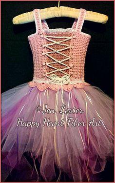Crochet Fairytale Princess Costume Crochet Tutu Dress ~ newborn- 12yr, http://crochetjewel.com/?p=10662