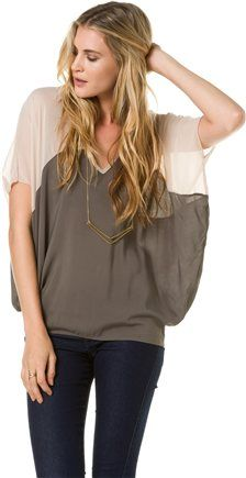 Love this slouchy top