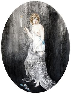 """Louis Icart (French, 1888-1950), """"Bedtime"""""""