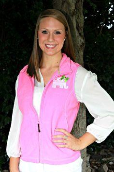 Future First Lady  - GOP Embroidered Fleece Vest , $34.99 (http://www.futurefirstlady.net/gop-embroidered-fleece-vest/)