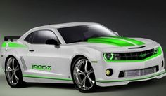 Camaro withe/green w/ neon