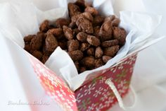 Candied Cinnamon Roasted Almonds