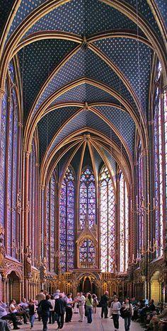 gothic architecture - sainte chapelle