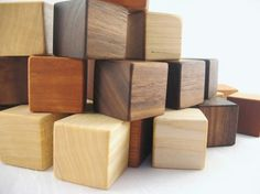 handmade or wooden toys is a must for me! OUT WITH PLASTIC.  wooden baby toys - @Design Unlimited Hamilton Zimmerman