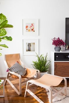 designlovefest's beautiful living room makeover / photo by laure joliet