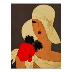 Art Deco Flapper Girl