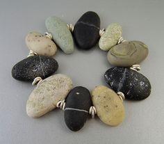 Beach Stone Bracelet by Kim Cavender, via Flickr