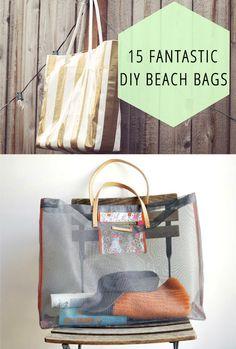 15 Fantastic DIY Beach Bags!