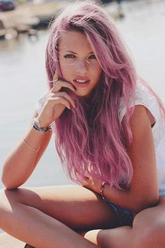 Amazing washed-off pink.