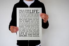 ARM: Holstee Manifesto ( hipster cliche)