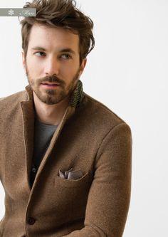 jacket, men styles, men fashion, beard, men clothes