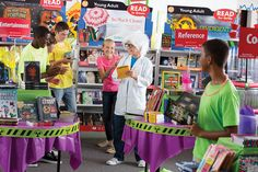 At your book fair, it's okay to cause a scene! An outgoing student in character as a mad scientist will grab your students' attention and get them talking!    Check out your Book Fair Chairperson Toolkit for more tips and tricks.