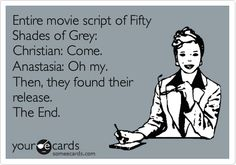 Fifty Shades Of Grey...