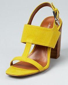 Calvin Klein Sandals - Lanette Chunky Heel | Bloomingdale's