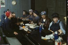 Color photos from the Great Depression/WWII.