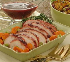 Slow cooker turkey breasts.Turkey breasts with spices,herbs and vegetables cooked in crock pot.