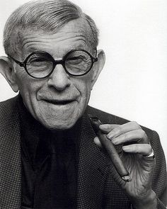 George Burns. Loved the Burns and Allen Show with his wife Gracie and  their comedy tapes from the radio!